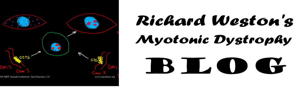 Richard Weston's Myotonic Dystrophy Blog